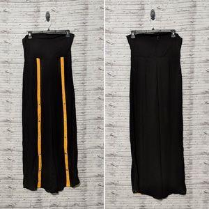 Fashion Nova Women's Sz:XL Black &Yellow romper